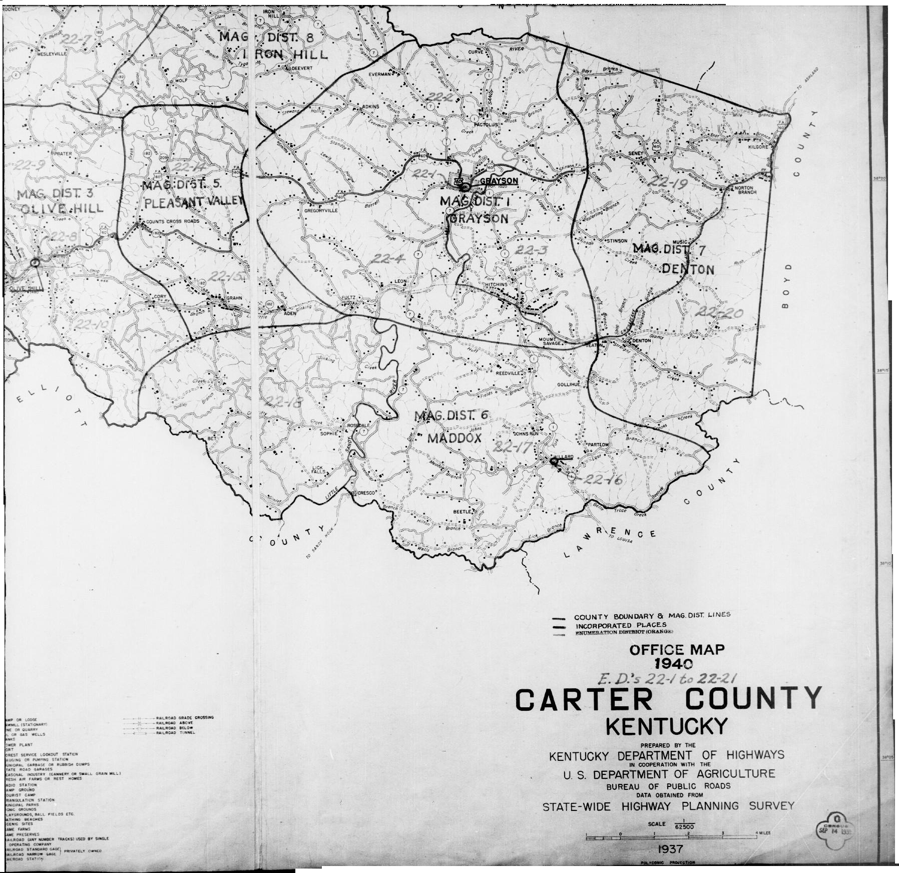1940 Carter County Map on kentucky map, louisville map, ky co map, ky snow map, ky parkways map, ky airport map, ky hwy map, ky zip code map, ky pipeline map, ky weather map, lebanon ky map, paducah ky map, knox county ne platte map, ky city map, nicholasville ky map, florence ky map, ky district map, ky tn map, ky river map, ky state map,